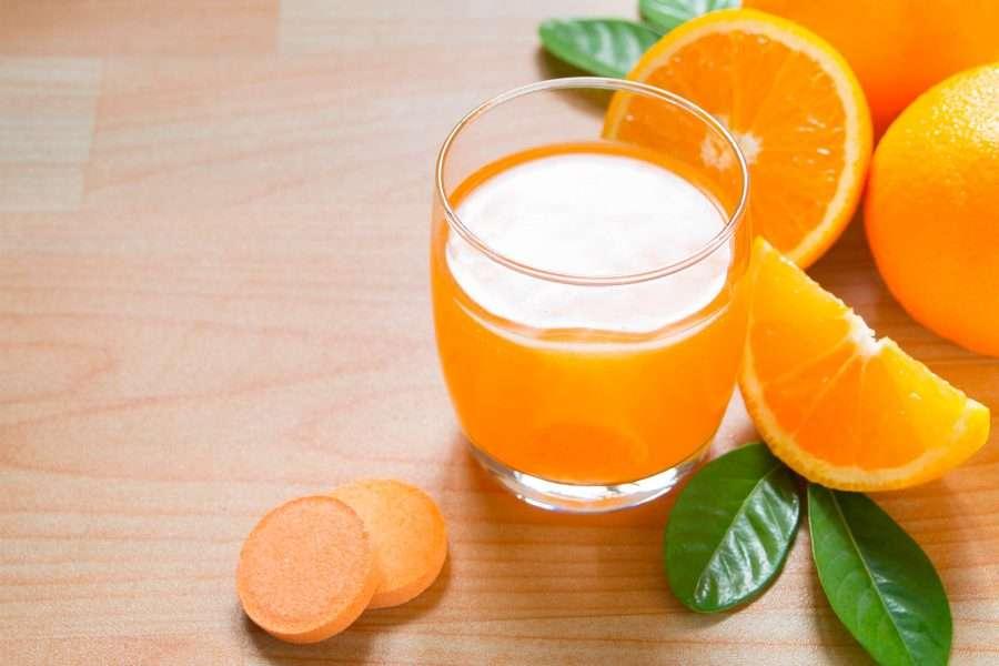 Integratore di Vitamina C effervescente
